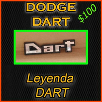 Emblema Dart Para Modelos K