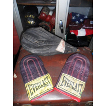 Boxeo Antiguo,puching,guantes,everlast,1960,reliquia.