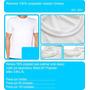 Remeras Lisas Para Sublimar 100% Polyester Poliester