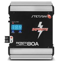 Fonte Stetsom Infinite 80a Bi-volt Automotiva C/ Voltímetro