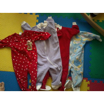 Set 4 Mamelucos Y Pantalones Calientitos