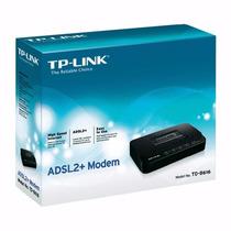 Modem Tp-link Modelo Td-8616 Nuevo Sellado Alta Tecnologia..