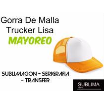 Gorra De Malla Trucker Mejor Precio