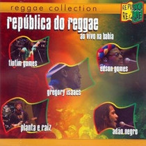 Cd Republica Do Reggae - Adao Negro, Edson Gomes, Tintim Man