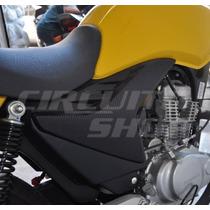 Adesivo Protetor Tampa Lat. Moto Honda Titan Fan 150 10-13