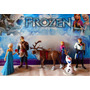 Set De Figuras Frozen Coleccion Ana, Elsa, Olaf, Kristtof