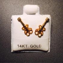 Broqueles De La Marca Tous En Oro De 14k