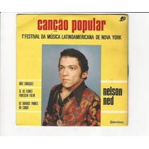 Nelson Ned 1970 Canção Popular - Compacto Ep B5