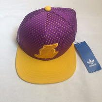 Gorra Lakers Adidas Morada Snapback