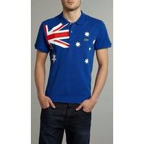 Polo Bandeira De Paises Australia,eua , Canada ,alemanha
