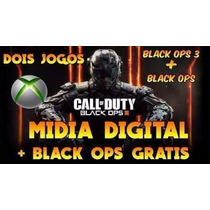 Call Of Duty Black Ops 3 + Bo1 Xbox 360 Midia Digital Barato
