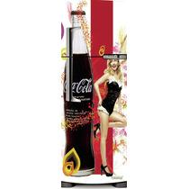Adesivo Geladeira Coca Cola Viva A Fantasia # 29 (porta Únic