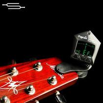 Afinador Clip Vibracion Para Guitarra Bajo Contrabajo Envios