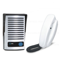 Kit Interfone Hdl Porteiro Eletrônico F8 Ntl + Monofone Az01