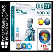Licencia Eset Nod32 Antivirus V8 1 Año X 1 Pc Original
