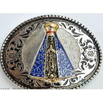 Fivela Country Western Peão Cowboy Boiadeiro Nossa Senhora