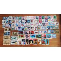 Estados Unidos. Lote De 95 Timbres Postales Usados