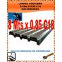 Lámina Losacero Galvanizada 8,10mtsx0,85mts Calibre 18