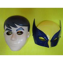 02 Mascaras Ben 10 Volverine Com Elastico Adulto E Infantil