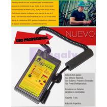 Detector Fuga Gas Portátil Multigas Uso Profesional