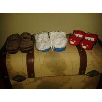 Zapatos Para Bebe Tejidos.se Hacen También Por Encargo.