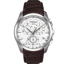 Relógio Tissot Couturier T035.617.16.051.00 Branco Couro