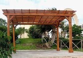 techos para pergolas de madera