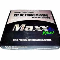 Kit Relação Maxx Para Cbx 250 Twister Kallu Motos