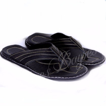 Sandalias Ojotas Hombre Modelo Maxi En Cuero De Shoes Bayres