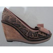 Sandalia. Zapato .cuero Mingo By Tosone. Plataforma