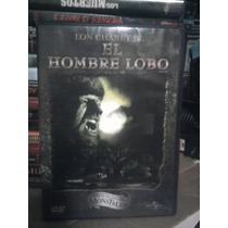 Dvd El Hombre Lobo Universal Monsters Licantropos Lon Chaney
