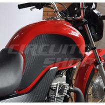 Protetor Tanque Lateral Pad Tank Moto Honda Fan 125 Ks 2014