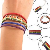 Pulsera De Gamuza Pride Orgullo Gay