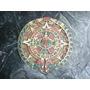 Antigua Calendario Maya En Ceramica Traido De Mexico