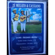 Zé Mulato & Cassiano ( Cd+dvd - 30 Anos De Carreira Ao Vivo)
