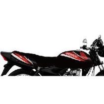 Funda Honda 125 Cg Titan Kit Rojo Tsl