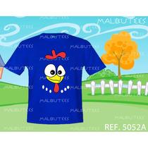 Camiseta Infantil Galinha Pintadinha