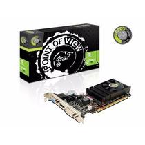 Placa De Video Point Of View Geforce Gt 730 4gb Ddr3 128bits