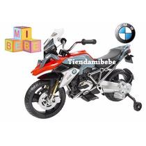 Bmw Moto A Bateria Niños 6v Con Rueditas, Luz Y Sonido Kiddy