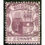 Mauricio Sello Usado Escudo De Armas X 2 Cents Años 1900-02