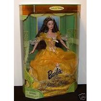 Muñeca Barbie Princesa Disney Bella Y Bestia Nueva En Caja