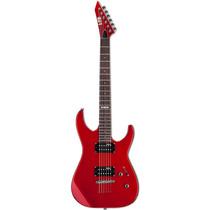 Guitarra Esp Ltd M10 Lm10k Vermelha Com Bag