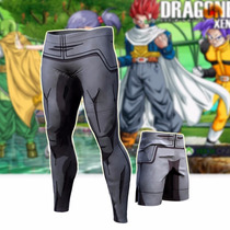 Calça Compressão Legging Dragon Ball Bodybuilding Jiu Mma