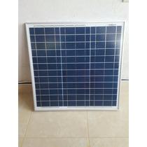 Modulo Panel Solar De 30 Watts 12 Vcd. Flete Incluido.
