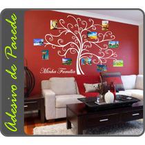 Adesivo Árvore Genealógica Porta Retrato Grande Família Foto