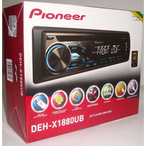 Toca Cd Player Pioneer Deh-1880 Usb Frontal Som Mixtrax 2016