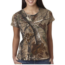 Franela Code V Ladies Realtree Talla S