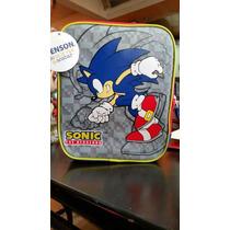 Lonchera Sonic Hedgehog 100%original Chenson