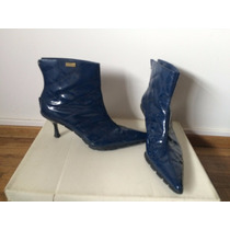 Botas De Lluvia Para Mujer Perramus Talle 4 Azul