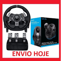Volante Logitech G920 + Cambio Driving Force - Xbox One
